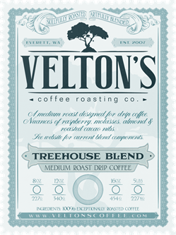 Treehouse Blend (medium roast drip coffee)